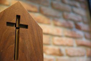 crucifix in wood