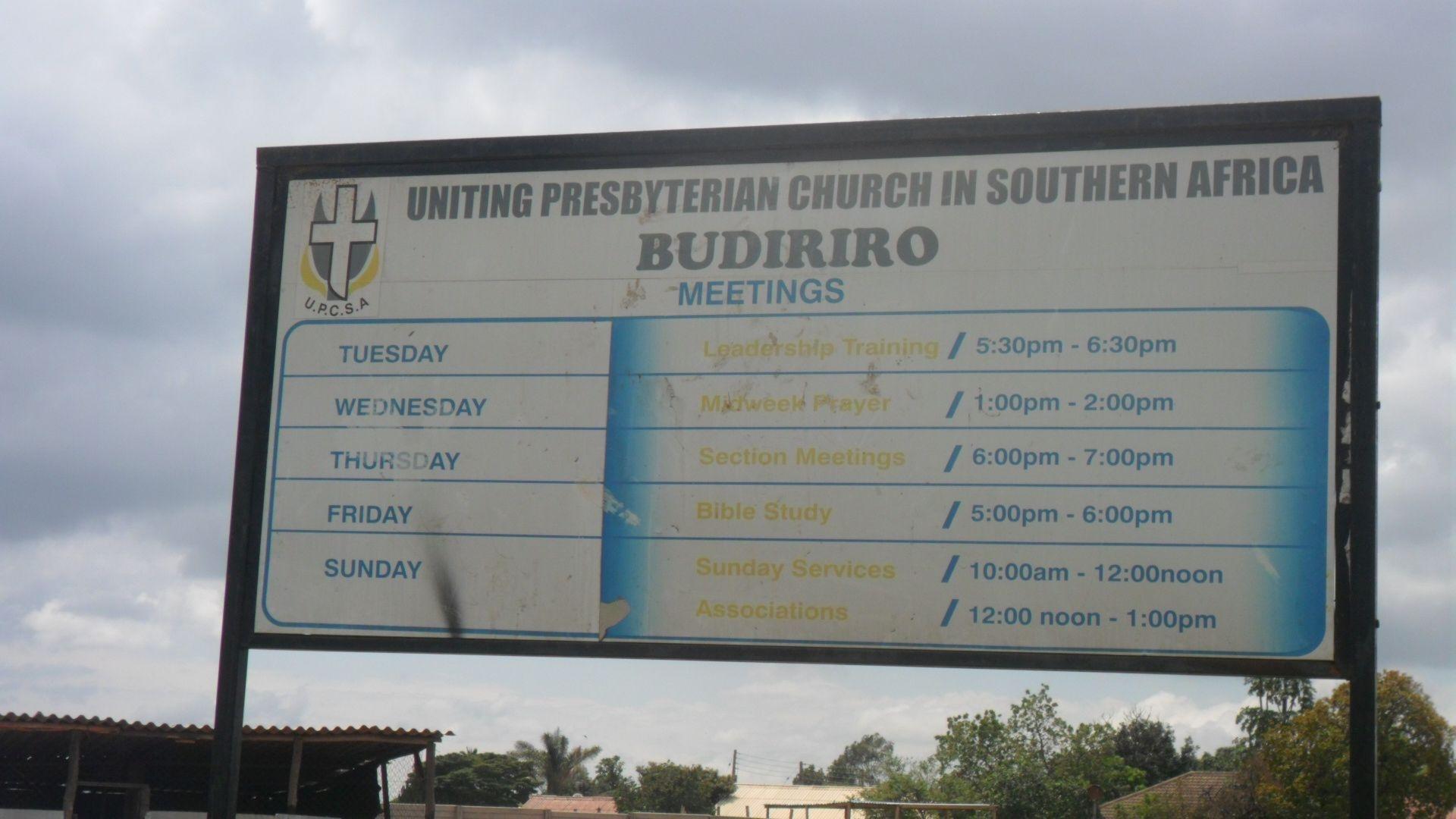 Budiriro-church-sign